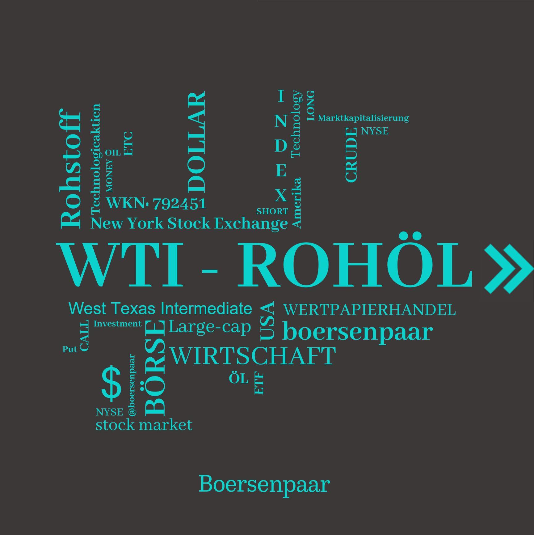 WTI Öl Analyse