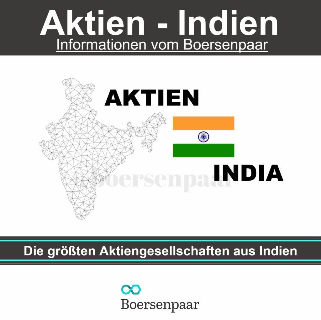 Die größten Aktiengesellschaften aus Indien