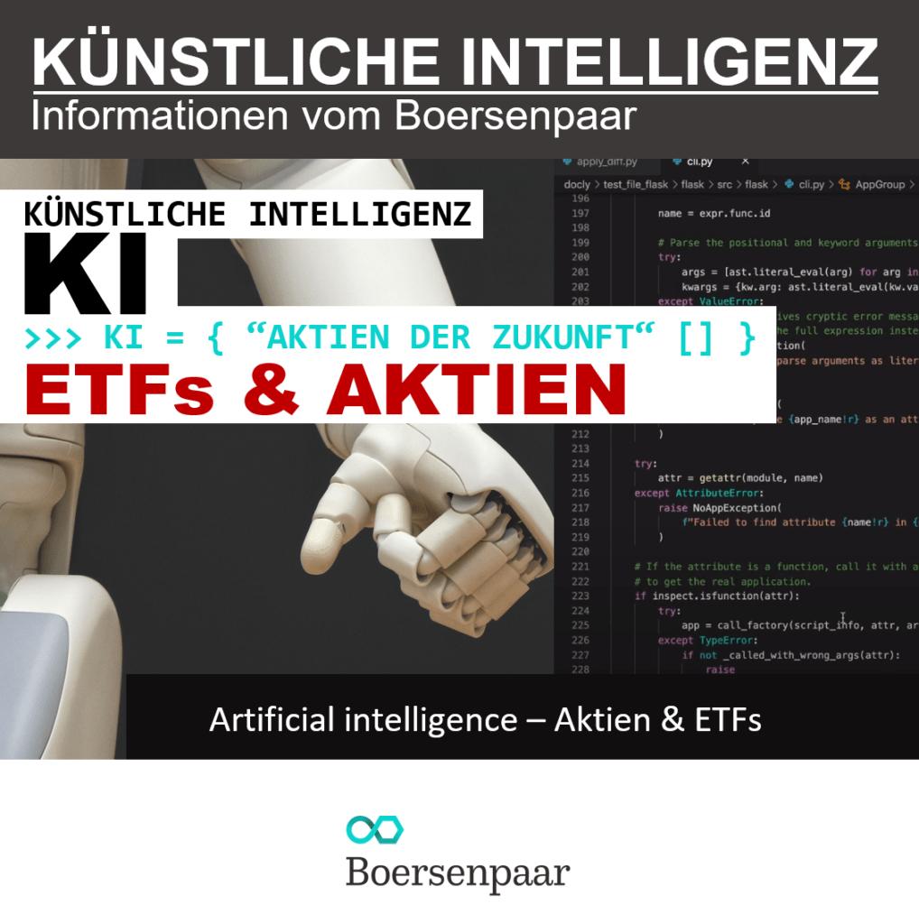 Künstliche Intelligenz Aktien und ETFs