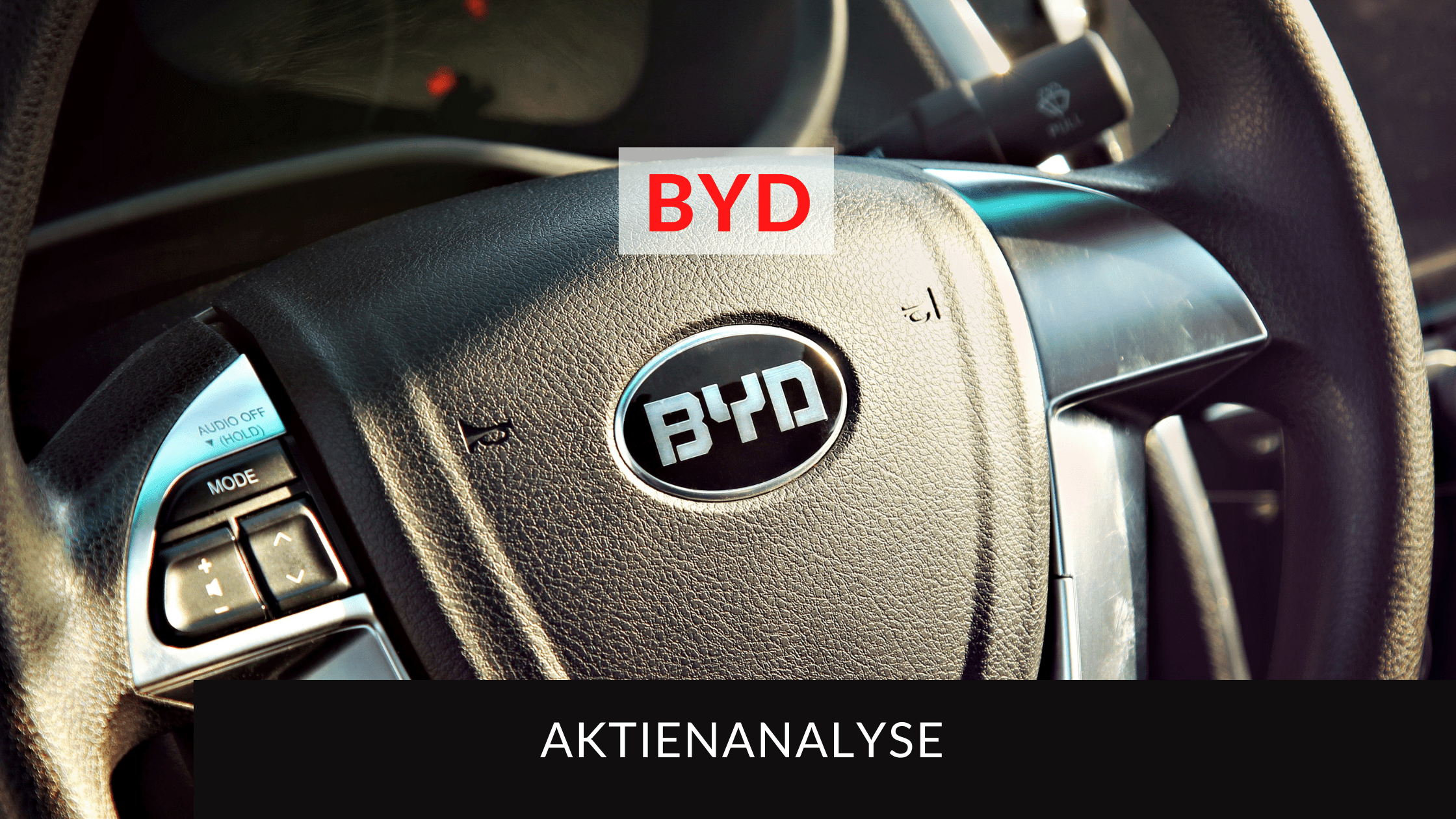 BYD Aktienanalyse