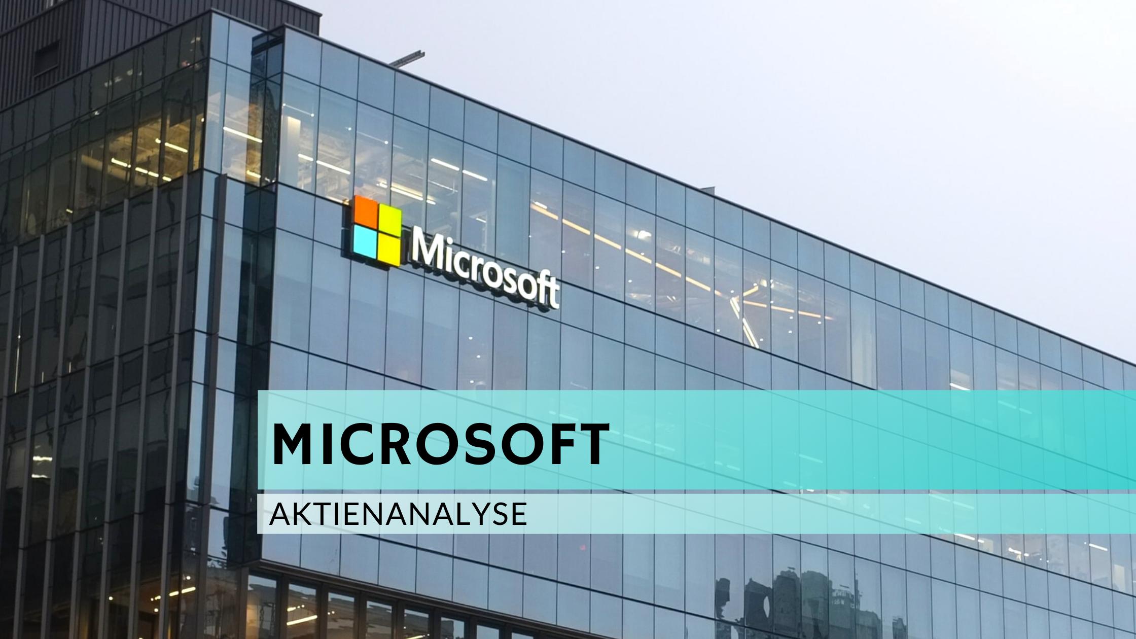 Microsoft Aktienanalyse