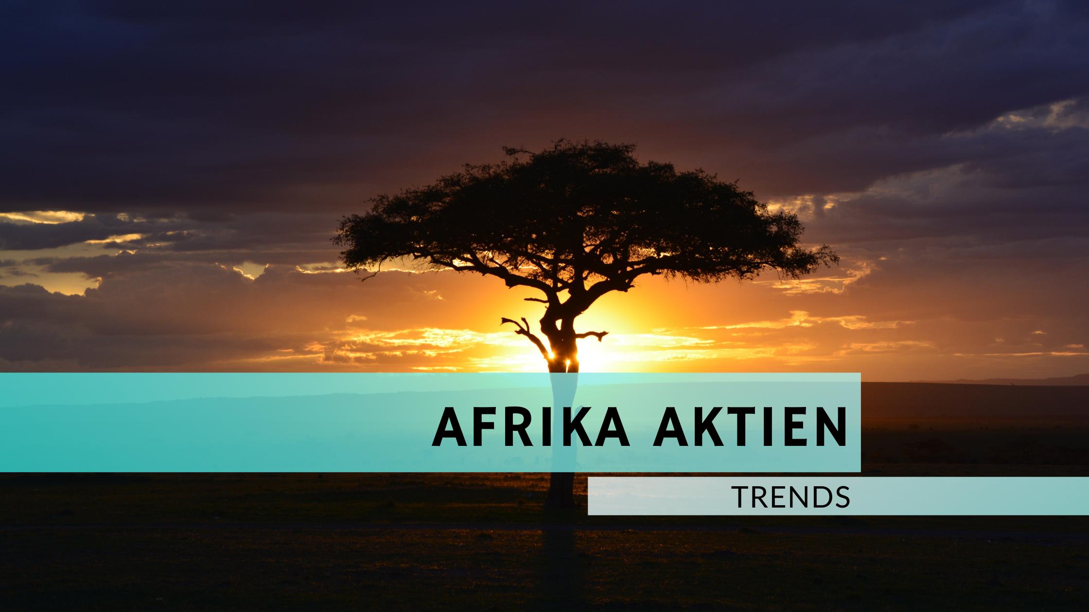 21 interessante Afrika Aktien
